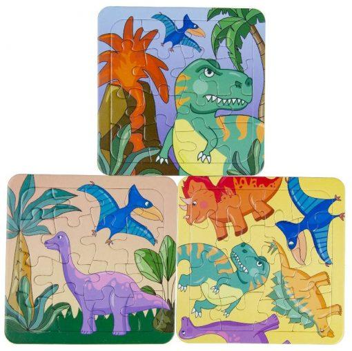 dino puzzel, dinosaurus puzzel, dino traktatie, puzzel traktatie