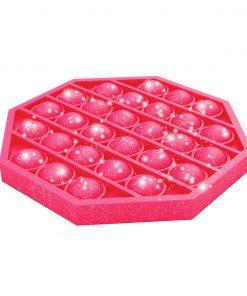 bubble pops roze glitter, pop-it roze, rage 2021
