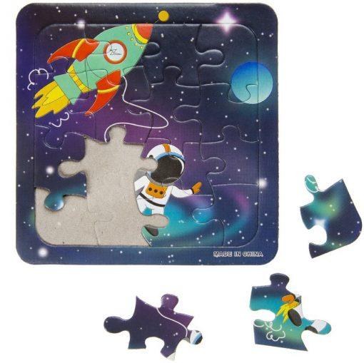 ruimtevaart puzzel, ruimtevaart traktatie