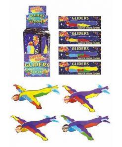 superhelden vliegtuigje, foam vliegtuigje, superhelden traktatie, jongens traktatie