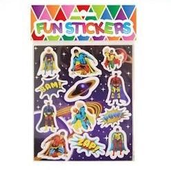 funstickers superhelden