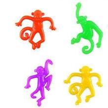 stretch apen, stretch aap, apen traktatie, gekleurde traktatie