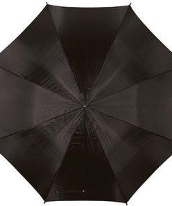 stok paraplu zwart, paraplu bedrukt