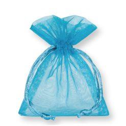 organza zakje turquoise