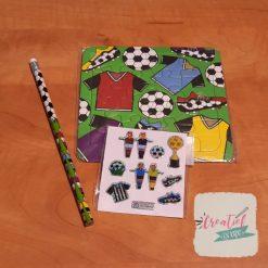 voetbal puzzel traktatie