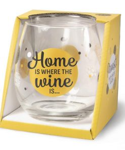 water- wijnglas home, home is where the wine is. cadeau nieuwe woning, house warming.