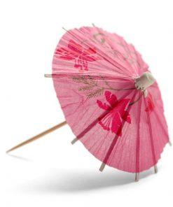 papieren parasolletje, parasol papier, coctail parasol