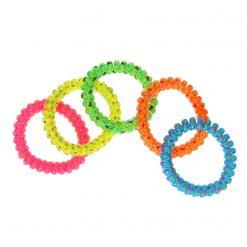 armband neon met sterretjes, neon armband