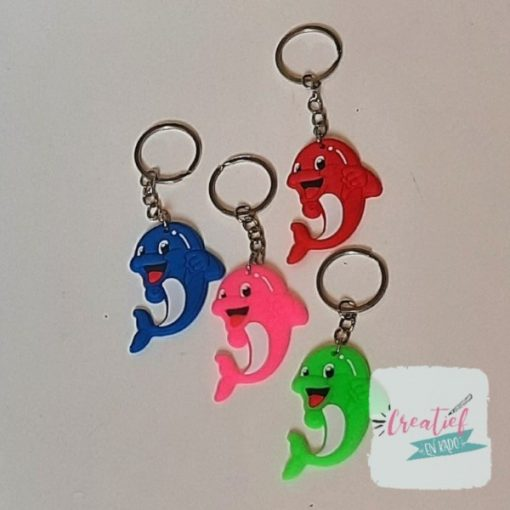 dolfijnen sleutelhanger, sleutelhanger dolfijn