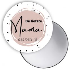 spiegel de liefste mama, cadeau mama, cadeau moederdag
