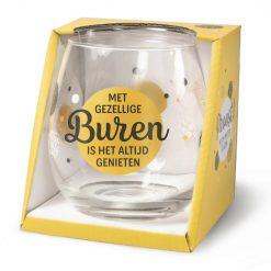 waterglas buren, wijnglas buren