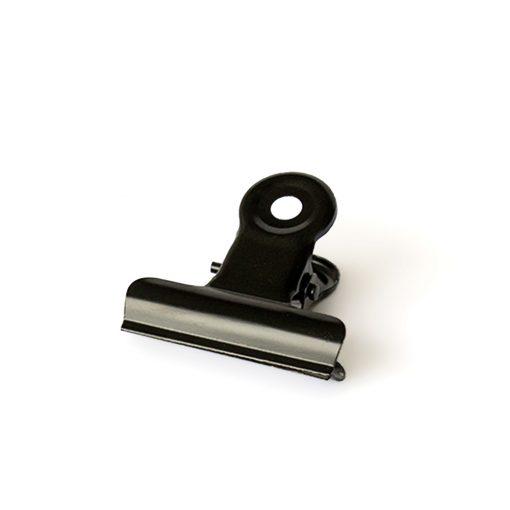 office clips, knijpers zwart