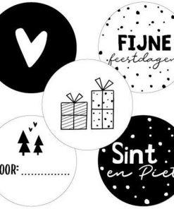 Sluitsticker Sinterklaas, Sluitsticker feestdagen, Sluitsticker kersmis