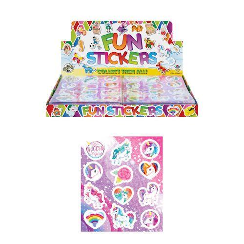 funstickers eenhoorn, unicorn stickers