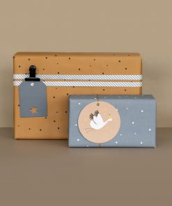cadeau voorbeeld inpakpapier little dots