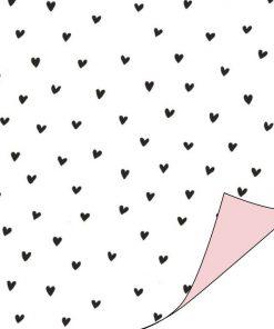 inpakpapier hartjes, cadeau papier hartjes, inpakpapier hartjes, cadeau papier love to give, inpakken