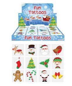 Kerst tattoos, kerstmis tatoeage, kerst traktatie