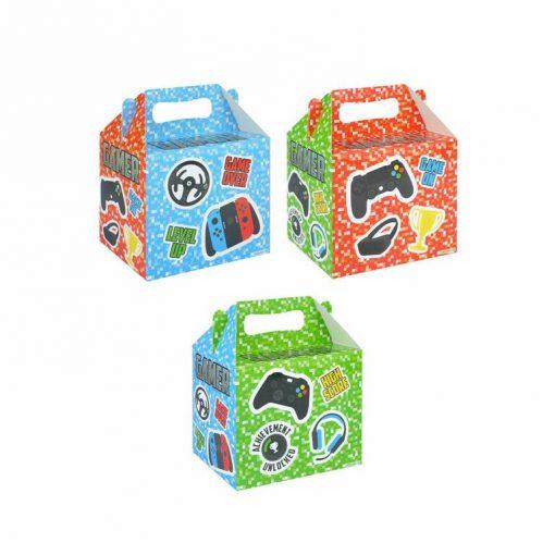 menubox gamer, traktatie box game