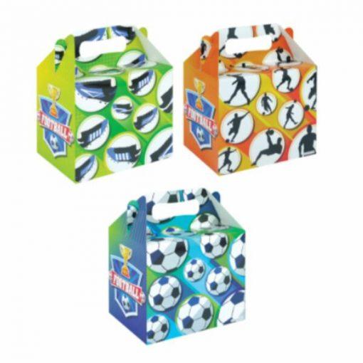 menubox voetbal, traktatie box voetbal, voetbal traktatie, sport traktatie,