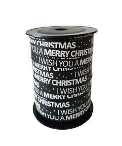 krullint merry christmas, cadeaulint merry christmas, inpakken kerstmis